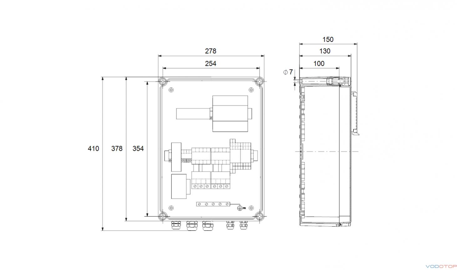 Шкаф управления lcd 108 схема подключения 112