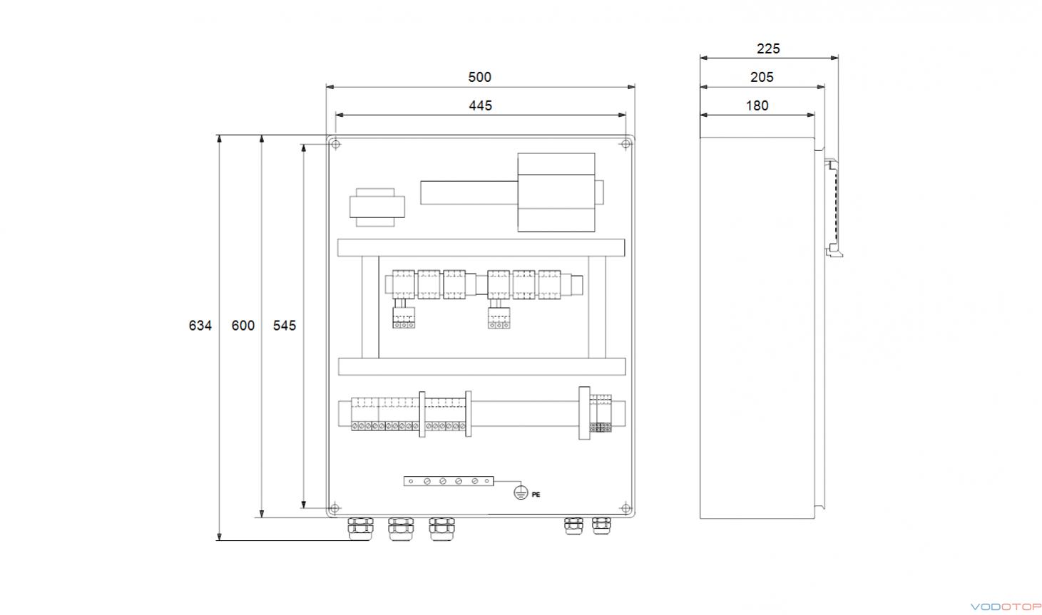 Шкаф управления lcd 108 схема подключения 149